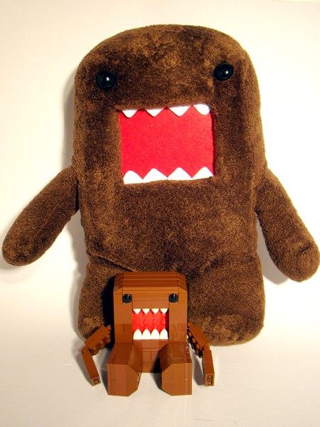 Domo and friend